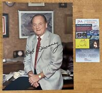 Bob Devaney Signed Autographed 8x10 Photo JSA Certified Nebraska Cornhuskers