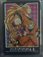 Used #408 Prism Foil Japanese Hero Collection Dragonball Z Card Series 4