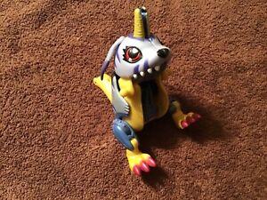 Digimon digivolving Gabumon to Metalgarurumon