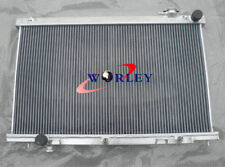 FOR INFINITI G35 G 35 3.5L COUPE SEDAN ALUMINUM RACING RADIATOR 2003-2007 AT/MT