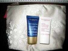 CLARINS MULTI-ACTIVE NIGHT CREAM 15ml + BEAUTY FLASH BALM 15ml + POUCH