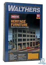 HO Walthers Cornerstone kit 933-3164 * Heritage Furniture Bkground Building NIB