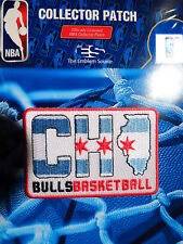 "Official Licensed NBA Chicago Bulls ""City Edition"" Fan Iron or Sew On Patch"