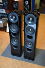 KEF MODEL203/2 Speaker (pair) Piano black finish USED Exhibit item