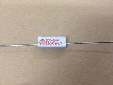 *NEW* 32x Vitrohm Ceramic Wirewound Resistor 4W 220R OHM 5%, KH206-044-5B220R