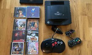 Entire Neo Geo CD Console Collection (8 Games) US Seller!!!