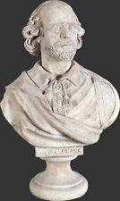 William Shakespeare Statue Bust Figurine, a poet artist . fine art decor  statue