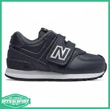 Scarpa New Balance 574 junior con velcro sneakers baby tempo libero e sport blu
