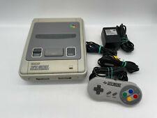 Super Nintendo SNES PAL Konsole mit original Controller und Zubehörpaket