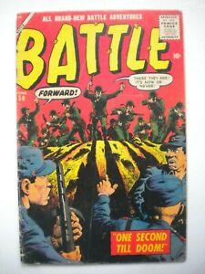 BATTLE #58 VG/F   (ATLAS)   SOLID MID-GRADE!