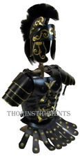 Roman Greek Muscle Armour Jacket with Shoulder & Medieval Helmet