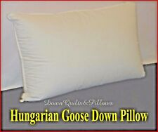 1 STANDARD SIZE PILLOW SOFT - 95% HUNGARIAN GOOSE DOWN - EUROPEAN QUALITY