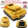 New 2 DCB203-2 DEWALT 20V 20 Volt Max Lithium-Ion Battery Packs Model DCB203