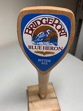 WOODEN BRIDGEPORT BLUE HERON BITTER ALE BEER TAP HANDLE