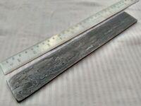 "10"" custom made hunting Damascus steel knife blank random billet"