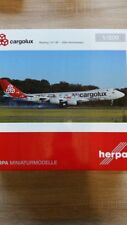 Herpa 558228 - 1/200 Boeing 747-8F - Cargolux - 45Th Anniversary - Neu