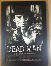 Dead Man JIM JARMUSCH  Signed Framed 12x18 Movie Poster