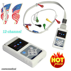 TLC5000 Dynamic 12-Channel ECG Holter Monitor System Software Analysis, CE FDA
