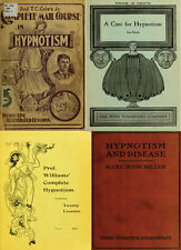 120 Rare Books On Hypnotism, Hypnosis, Mind Control, Learn To Hypnotise On Dvd