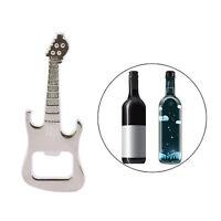 Adorable Bottle Opener Guitar Keyring Metal Kitchen Bar Beer Novelty Tool JE YK