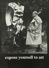 """EXPOSE YOURSELF TO ART"" AFFICHE PHOTO"