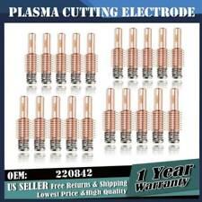 20pcs Plasma Torch Electrode For Hypertherm Duramax Bi1239 220842 45a 105a