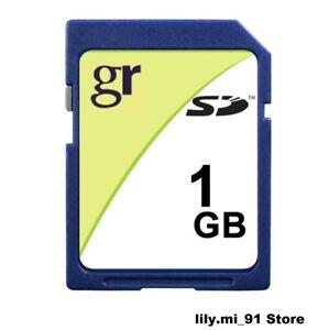 GIGARAM 1GB SD Card New - Bulk package