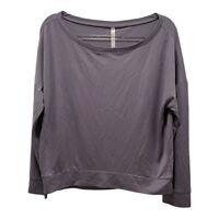 Fabletics Betty Pullover II Long Sleeve Knit Top Purple Size Small NWT