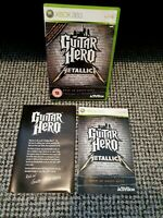 Guitar Hero: Metallica (Xbox 360) - VGC with Manual