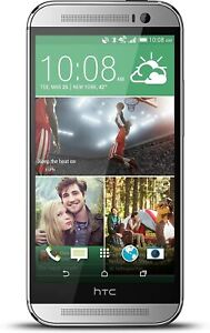 HTC One M8 - 32GB - Gray (AT&T) *POOR USB CONNECTION OTHER ISSUES READ DESCRIPT.