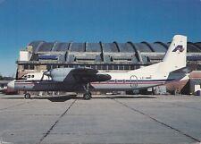 Aviasur ANTONOV AN-24B LZ-MND Montevdeo Uruguay 1995 BZ Aircard Postcard 7