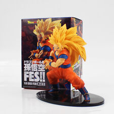 DRAGON BALL SUPER - Figura Goku SSJ3 Action figure Son Goku FES tamaño 20 cm.