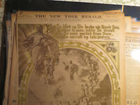 Religion History Newspaper 1903 PAINTING POSTER PAGE COOPER + ASCENSION BY FARGE