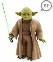 Disney Star Wars Yoda Talking Action Figure Doll Sound Activated 26cm Figure
