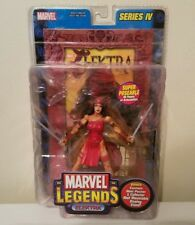 TOY BIZ MARVEL LEGENDS SERIES IV ELEKTRA(ELEKTRA NATCHIOS) W/SWORDS AND SY'S