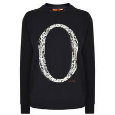 Boss Orange By Hugo Boss Tapro Logo Sweatshirt  Size 14 Large Women's Blue New