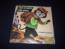 Puss In Boots Eric Sykes Kenmax Soundbook Talking Book 45RPM Vinyl Record 1960s