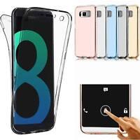 Coque Silicone Integrale Samsung Galaxy S8 Plus Coque Anti Choc Totale 360° Linc