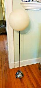 Robert Sonneman Lollipop Floor Lamp Original MCM Atomic Vintage Globe Orb