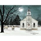 Art Print, Framed, Plaque- Billy Jacobs - I Heard the Bells Christmas Day BJ1160