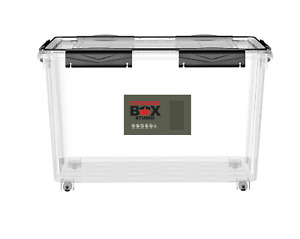 Very Large Air Tight Plastic Storage Box, Airtight Containers Caravan Campervan