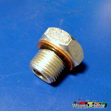 SPL6801 Sump Drain Plug Massey Ferguson 35 135 Tractor 3 Cyl Diesel & MF 65 165
