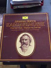Johannes Brahms Kammermusik 15 LP Gesamtausgabe