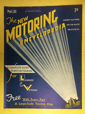 The NEW MOTORING ENCYCLOPEDIA  1937 - Part 33 - Timing Gear - Transmission