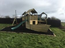 Triple Tower Quality Climbing Frame 6ft Base RSP REDUCED