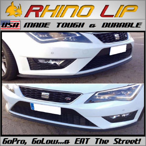SEAT MK3 1200-Sport Bocanegra Panda Fura R Flexible Rubber Front Bumper Chin Lip