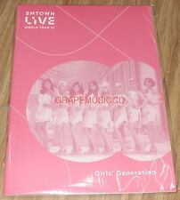 SMTOWN LIVE WORLD TOUR VI in SEOUL OFFICIAL GOODS GIRLS' GENERATION NOTE NEW