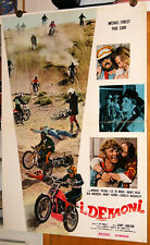 n°8+1 fotobuste film I DEMONI - THE DIRT GANG - Jerry Jameson 1973 moto bikes