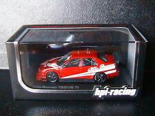 ALFA ROMEO 155 V6 TI PLAIN BODY VERSION RED 1993 HPI RACING 8080 1/43 ROSSO ROT