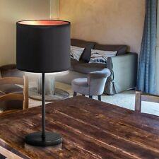 LAMPE DE TABLE E27 Noir Orange bureau salon lumière Vestibule LOBBY cuisine